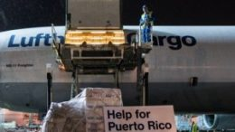 Lufthansa is flying out relief-aid goods to Puerto Rico 5