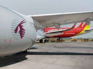 Qatar Airways enters interline partnership with Vietjet 1