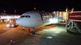Resort check in on Fiji Airways 52