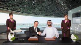Etihad Airways and Louvre Abu Dhabi landmark partnership signed 92