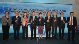 Hong Kong Aircraft Leasing and Aviation Finance Association inaugurated today 5