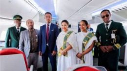 Ethiopian Boeing 787-9 receives a rapturous welcome in Madagascar 10
