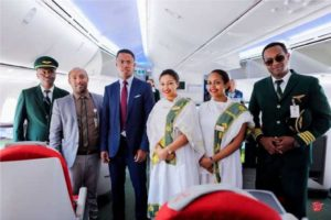 Ethiopian Boeing 787-9 receives a rapturous welcome in Madagascar 1