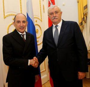 Qatar Airways Group Chief Executive Akbar Al Baker meets Governor of St. Petersburg 1