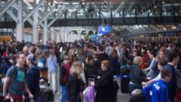 Boxing Day at Vancouver International Airport 48