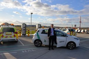 Heathrow welcomes 50th electric vehicle as part of pledge to 'Go Electric' 1