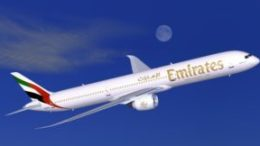 Dubai to London Stansted soon on Emirates 44