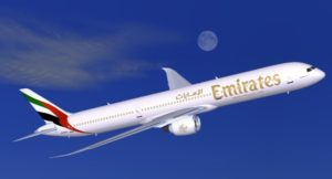 Dubai to London Stansted soon on Emirates 1