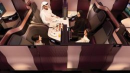 Qatar Airways' Qsuite officially lands at Washington Dulles International Airport 27