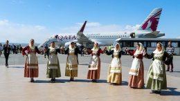 Qatar Airways lands in Thessaloniki 10