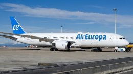 Air Europa introduces first Boeing 787-9 8