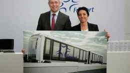 Fraport awards contract for construction of new people-mover system connecting Terminals 1 and 2 with future Terminal 3 1