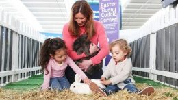 Hop on Holiday: Heathrow offers real life cuddles from Easter bunnies 34