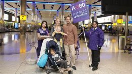Ten years of  the super Jumbo A380 at London Heathrow Airport 9