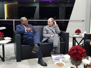 Jamaica Tourism Minister meets with Qatar Airways CEO