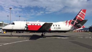 Loganair, Scotland's Airline connecting Carlisle and the Lake District with the South East of England, Northern Ireland and the Republic of Ireland