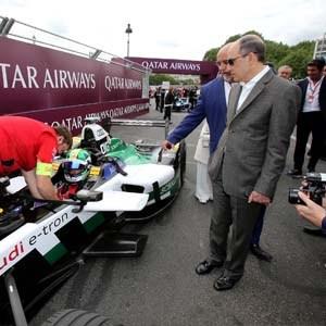 Electric Street Racing Series Formula E: We love it at Qatar Airways!