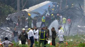 Cuba airplane crash:  Over 100 dead