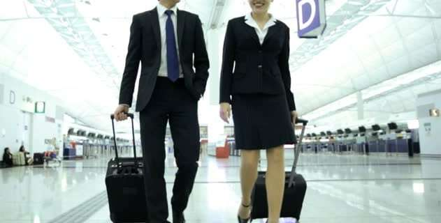 Business travelers feel 50% safer at airports than at train or subway stations 14