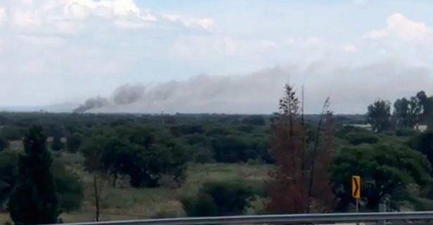Aeromexico plane crashes near Guadalupe Victoria International Airport 2
