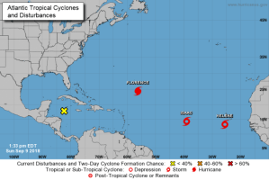 Florence, Helene and Florence: All major Hurricane threats in the Atlantic Ocean