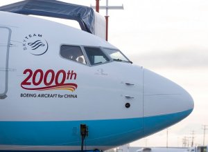 Boeing delivers its 2,000th airplane to China