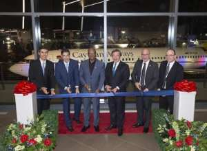 Cayman Airways takes delivery of its first Boeing 737 MAX