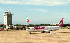 Swoop's inaugural flight from Abbotsford lands in Puerto Vallarta