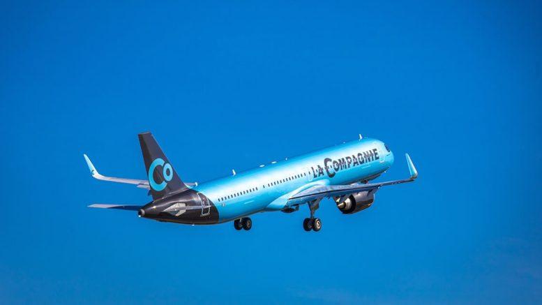 La Compagnie's first Airbus A321neo makes inaugural transatlantic flight 1