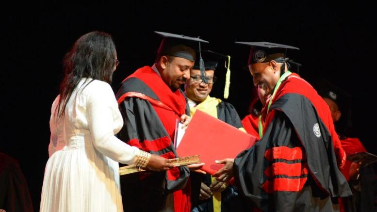 Addis Ababa University confers Honorary Doctoral Degree on Ethiopian Group CEO 1