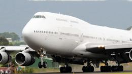Why is Boeing 747-400 being registered under Barbados colors and moved at night? 33
