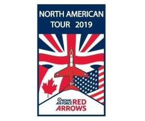 UK Royal Air Force Red Arrows set to soar across US