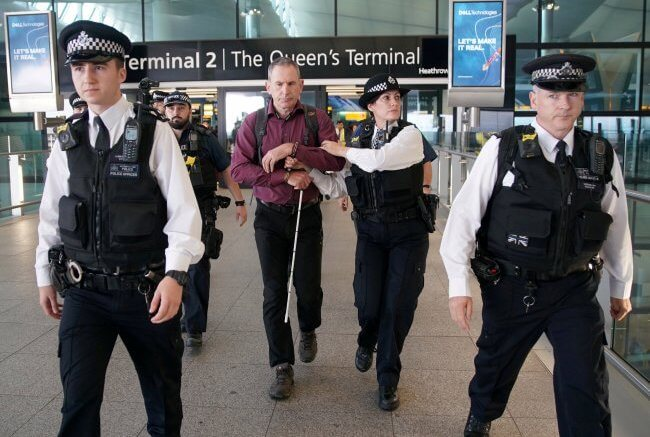 Eco-terrorists arrested at Heathrow Airport after failed 'drone protest' 1