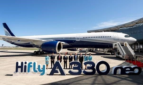 Airbus delivers first A330neo in Hi Fly livery 1