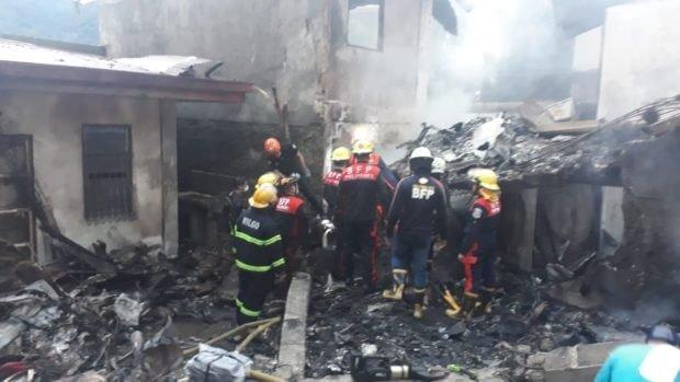 Nine people killed in plane crash in resort area near Manila 1