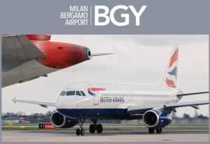 Milan Bergamo Airport gets set for British Airways' Gatwick service