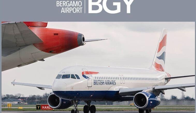 Milan Bergamo Airport gets set for British Airways' Gatwick service 1