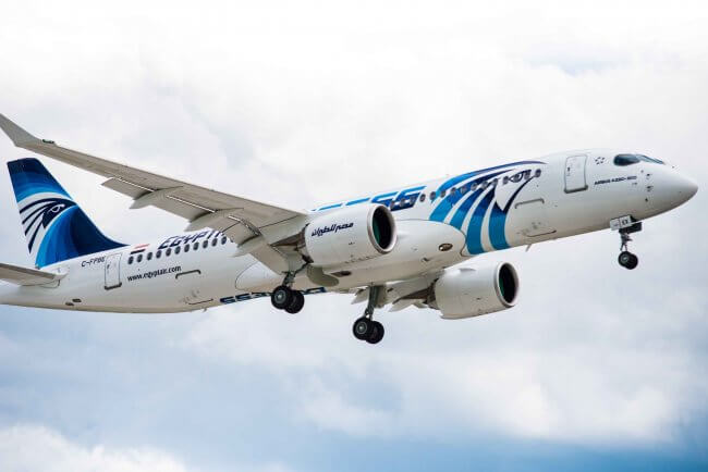First Airbus A220-300 aircraft delivered to EgyptAir 1