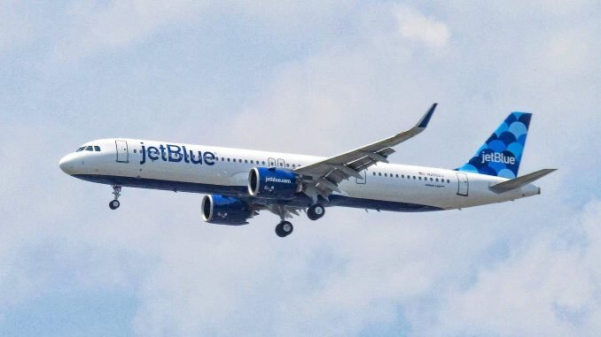 JetBlue greets Guyana with Airbus A321neo latest route 1