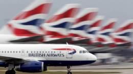 British Airways flights nearly 100% grounded 21