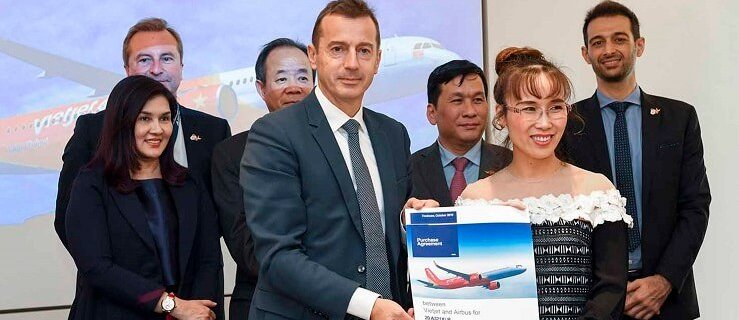 Vietjet orders 20 Airbus A321XLR aircraft 8