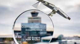 Prague Airport names British Airways the QUIETEST AIRLINE 5