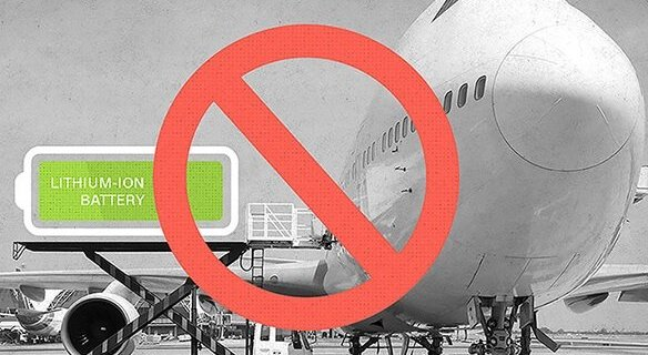 Airline industry steps up efforts against rogue lithium battery shipments 9