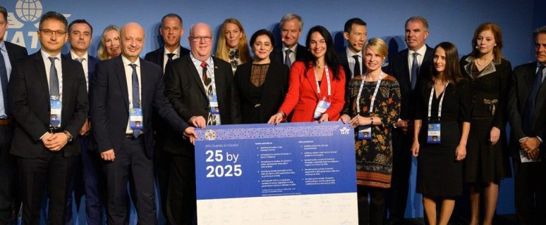 IATA: 59 airlines join 25by2025 campaign 5