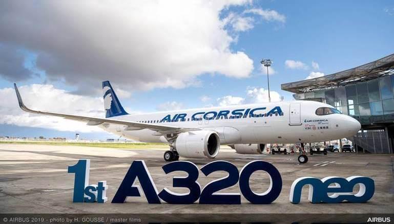 Air Corsica: Leasing Airbus A320 Neo 1