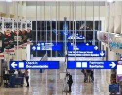 ASUR airport group: Passenger traffic down 58.6% in September 1
