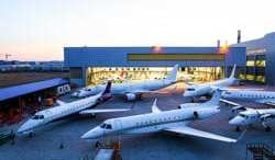 ExecuJet Haite completes largest business jet inspection in China 7