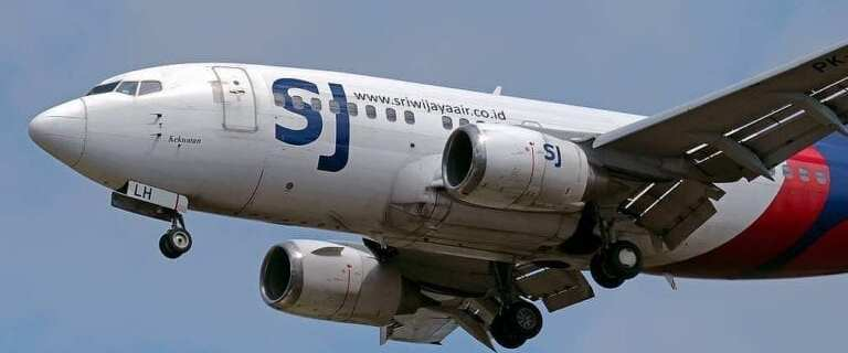 Indonesian authorities confirm that Sriwijaya Air Boeing 737 with 65 on board crashed into Jakarta Bay 10