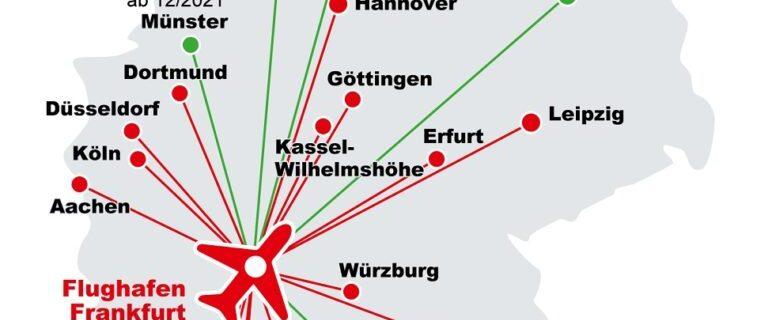 Lufthansa and Deutsche Bahn unveil extra-fast DB Sprinter trains to Frankfurt Airport 22