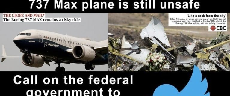 Boeing Max still unsafe, FAA and US Secretary of Transportation knows 10